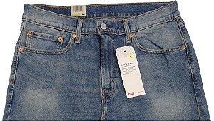 Calça Jeans Levis Masculina Corte Tradicional - Ref. 505-2144 Regular - Algodão / Liosel / Elastano