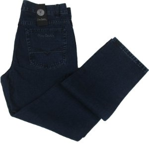 Calça Jeans Masculina Pierre Cardin Reta (Cintura Média) - Ref. 452P282 - 100% Algodão