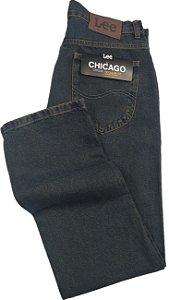 Calça Lee Chicago Masculina Reta Tradicional - Ref. 1020L - Jeans 100% Algodão