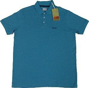 Camisa Polo Wrangler Malha Piquet  - 100% Algodão (SEM BOLSO) - Ref. 71461C5F94 - VERDE