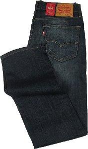 Calça Jeans Levis Masculina Corte Tradicional - Ref. 514-0403 - 98% Algodão / 2% Elastano