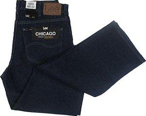 Calça Jeans Lee Original Chicago Masculina Reta Tradicional - Ref. 200010150 Azul  - 100% Algodão