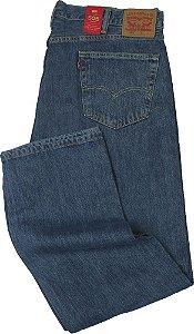 Calça Jeans Levis Masculina Corte Tradicional - Ref. 505 - 4891 PLUS SIZE - 100% Algodão