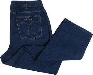 Calça Jeans Pierre Cardin Reta Tradicional - Ref. 480P545 PLUS SIZE (CINTURA ALTA) - 100% Algodão