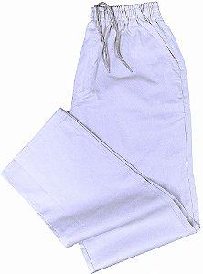 Calça de Elástico (Com Zipper) - Stargriff - 100% Algodão - Ref. 421 Branca