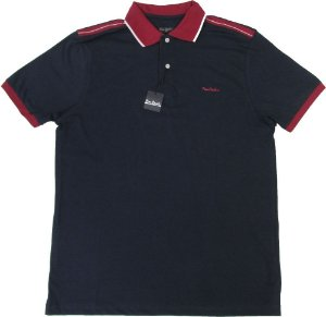 Camisa Polo Pierre Cardin (SEM BOLSO) - 100% Algodão - Ref. 15519