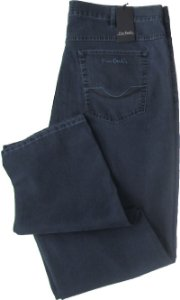 Calça Jeans Masculina Pierre Cardin Reta (Cintura Alta) - Ref. 487P880 PLUS SiZE (GRAFITTE) - Algodão / Poliester / Elastano (Jeans Fino e Macio)