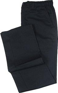 Calça de Elástico Stargriff - Com Zipper e Botão - 80% Algodão / 20% Poliester - Ref. 004 Chumbo