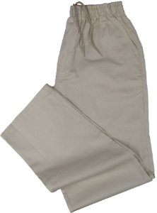 Calça de Elástico Masculina Com Zipper - Stargriff - 100% Algodão - Ref. 421 Areia