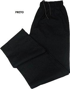 Calça de Elástico Masculina Com Zipper - Stargriff - 100% Algodão - Ref. 421 Preta