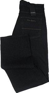 6aec5b807 Calça Jeans Masculina Pierre Cardin Reta (Cintura Alta) - Ref. 467P070  (GRAFITE