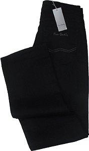 17ed8ecd7 Calça jeans Masculina Pierre Cardin Reta Tradicional (Cintura Alta) - Ref.  467P075 Preta
