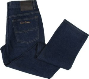 Calça Jeans Masculina Pierre Cardin Reta (Cintura Média) - Ref. 450P100 - 100% Algodão