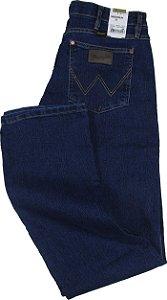 Calça Jeans Masculina Wrangler Reta Tradicional - Ref. 13MS68436 - Algodão / Elastano / Poliester