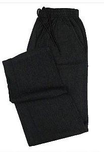 Calça Jeans Fino de Elástico (Com Zipper) - Stargriff - Ref. 427 Preta
