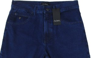Calça Jeans Masculina Pierre Cardin Reta Tradicional (Cintura Alta) - Ref. 463p276 - 100% Algodão