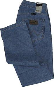 Calça Jeans Masculina Wrangler Reta Tradicional - Ref. WM1009 - 100% algodão - Jeans Fino