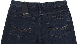 Calça Jeans Masculina Pierre Cardin Reta Tradicional (Cintura Alta) - Ref. 464P803 - 100% Algodão