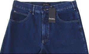 Calça Jeans Masculina Pierre Cardin Reta Tradicional (Cintura Alta) - Ref. 464P917 - 100% Algodão