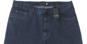 Calça Jeans Pierre Cardin Reta Tradicional (CINTURA ALTA) - Ref. 487P323 Cinza - Algodão / Poliester / Elastano - (Jeans Fino e Macio)