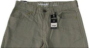 Calça De Sarja Masculina Wrangler Reta Tradicional - Ref. WM1010KA - Linha Cody - 100% algodão
