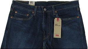 Calça Jeans Levis Masculina Corte Tradicional - Ref. 505-1829 - Algodão / Poliester / Elastano