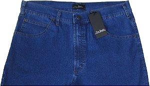 Calça Jeans Masculina Pierre Cardin Reta (Cintura Alta) - Ref. 467P250 (DELAVE) - Algodão / Poliester / Elastano (Jeans Fino e Macio)