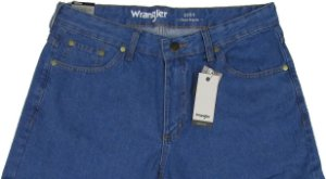 Calça Jeans Masculina Wrangler Reta Tradicional - Ref. WM1003 - 100% algodão - Jeans Fino