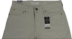 Calça De Sarja Masculina Wrangler Reta Tradicional - Ref. WM1010 Areia - Linha Cody - 100% algodão
