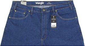 Calça Jeans Masculina Wrangler Reta Tradicional - Ref. WM1601 (PLUS SIZE) - Algodão / Elastano / Poliester - Jeans Fino