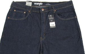 Calça Jeans Masculina Wrangler Reta Tradicional - Ref. WM1600 (PLUS SIZE) - Algodão / Poliester / Elastano  - Jeans Fino