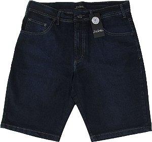 Bermuda Jeans Masculina Pierre Cardin - Ref. 557P999 - Algodão / Poliester / Elastano (Jeans Fino e Macio)