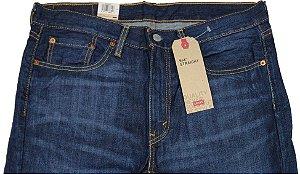 Calça Jeans Levis Masculina Corte Tradicional - Ref. 514-0541 - 100% Algodão