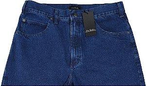 Calça Jeans Masculina Pierre Cardin Reta Tradicional Cintura Alta - Ref. 462P296 - 100% Algodão