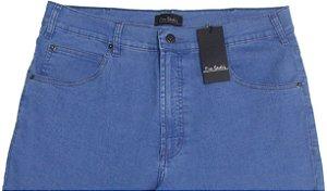 Calça Jeans Masculina Pierre Cardin Reta (Cintura  Alta) - Ref. 467P383 (DELAVE) - Algodão / Poliester / Elastano (Jeans Fino e Macio)