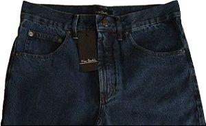 Calça Jeans Masculina Pierre Cardin Reta Tradicional (Cintura Alta) - Ref. 462P590 - 100% Algodão