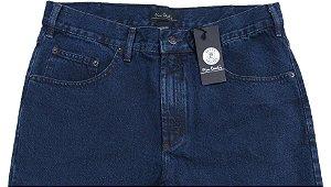 Calça Jeans Masculina Pierre Cardin Reta (Cintura Média) - Ref. 452P590 - 100% Algodão
