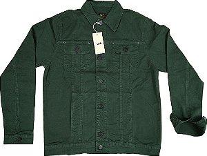 Jaqueta de Sarja Masculina Lee - Ref. 1705L Verde Militar