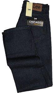 Calça Lee Chicago Masculina Reta Tradicional - Ref. 1003L (AZUL) -100% Algodão - Jeans Macio