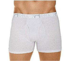 Cueca Boxer Flex Zorba (Com Abertura) - Ref 765 Branca - 95% Algodão / 5% Elastano