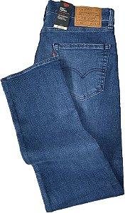 Calça Jeans Levis Masculina - Ref. 502-0649 Regular Taper - Boca Fina