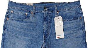Calça Jeans Levis Masculina - Ref. 502-0690 Regular Taper Delave - Boca Fina