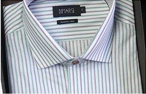 Camisa Dimarsi - Com Bolso - Manga Curta - 100% Algodão - Ref. 8905VB