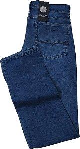 Calça Jeans Masculina Pierre Cardin Reta (Cintura Média) - Ref. 457P947 - Algodão / Elastano / Poliester (Jeans Fino e Macio)