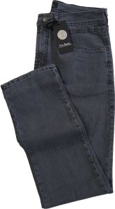 Calça Jeans Masculina Pierre Cardin Reta (Cintura Média) - Ref. 457P377 Cinza - Algodão / Poliester / Elastano - Jeans Macio