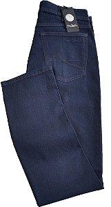 Calça Jeans Masculina Pierre Cardin Reta (Cintura Média) - Ref. 457P010 - Algodão / Poliester / Elastano - Jeans Macio