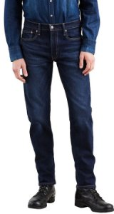Calça Jeans Levis Masculina - Ref. 502-0087 Regular Taper - Boca Fina - Algodão / Elastano