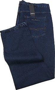 Calça Jeans Masculina Pierre Cardin Reta (Cintura Alta) - Ref. 482P297 - Plus  Size -100% Algodão