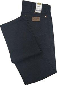 Calça De Sarja Masculina Wrangler Reta Tradicional - Ref. 13MWZWK36 Preta - 100% Algodão