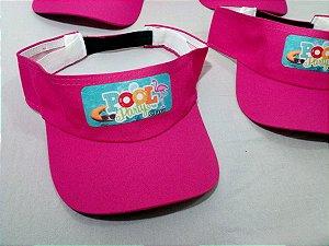 Viseira - Festa na Piscina - Pool Party - Festa Flamingo 0ca72db85fd